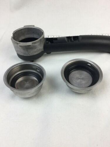 Delonghi Porta Filter Holder Espresso Machine Part for EC702 EC155 BAR32 ECO310 image 2