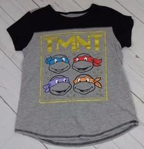 Nickelodeon Boys Gray Teenage Mutant Turtles Shirt Size XL (16) - A1595 - $4.90