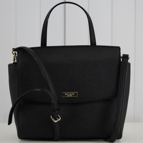 S l1600. S l1600. Previous. Kate Spade Laurel Way Saffiano Leather Satchel Crossbody  Handbag Black Shoulder 94f143102dba6
