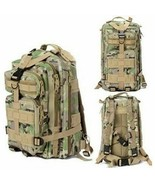 Military Tactical Backpack Bag Hiking Trekking Camping Daily EDC CP Camo... - $16.82+