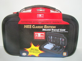 NES/SNES CLASSIC EDITION DELUXE TRAVEL CASE (New) - $59.95