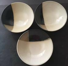 """Sango Mystique #5036 Set of 3 Soup Bowls 7- 3/4"""" PD19 - $19.95"""