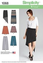 SIMPLICITY 1068 Misses' Knit Skirts & Pants Sewing Template, Size R5 (14-16-18-2 - $14.21