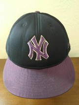 New York Yankees fitted 7 1/2 New Era sample hat cap satin lined limited edition - $24.70
