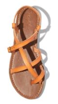 Universal Thread Women's Faux Leather Lavinia Toe Wrap Thong Sandal Vegan NWT image 3