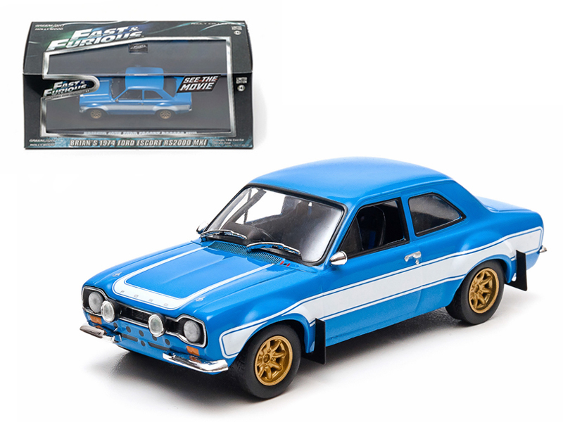 """Brian\'s 1974 Ford Escort RS2000 MK 1 \""""The Fast and The Furious\"""" Movie (2013)"""