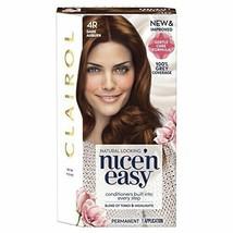 Clairol Nice 'n Easy Permanent Hair Dye Number - 4R DARK AUBURN - $12.57