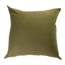 "Tea Cabin Green Plaid 16"" Pillow - VHC Brands - Country Farmhouse Style"