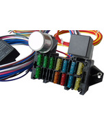 A-Team Performance 12 CIRCUIT UNIVERSAL WIRE HARNESS MUSCLE CAR HOT ROD ... - €53,07 EUR