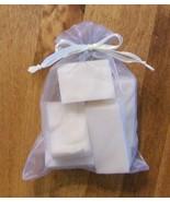 Bag of Soap Chunks  olive oil, tea tree/melaleuca soap - $6.00