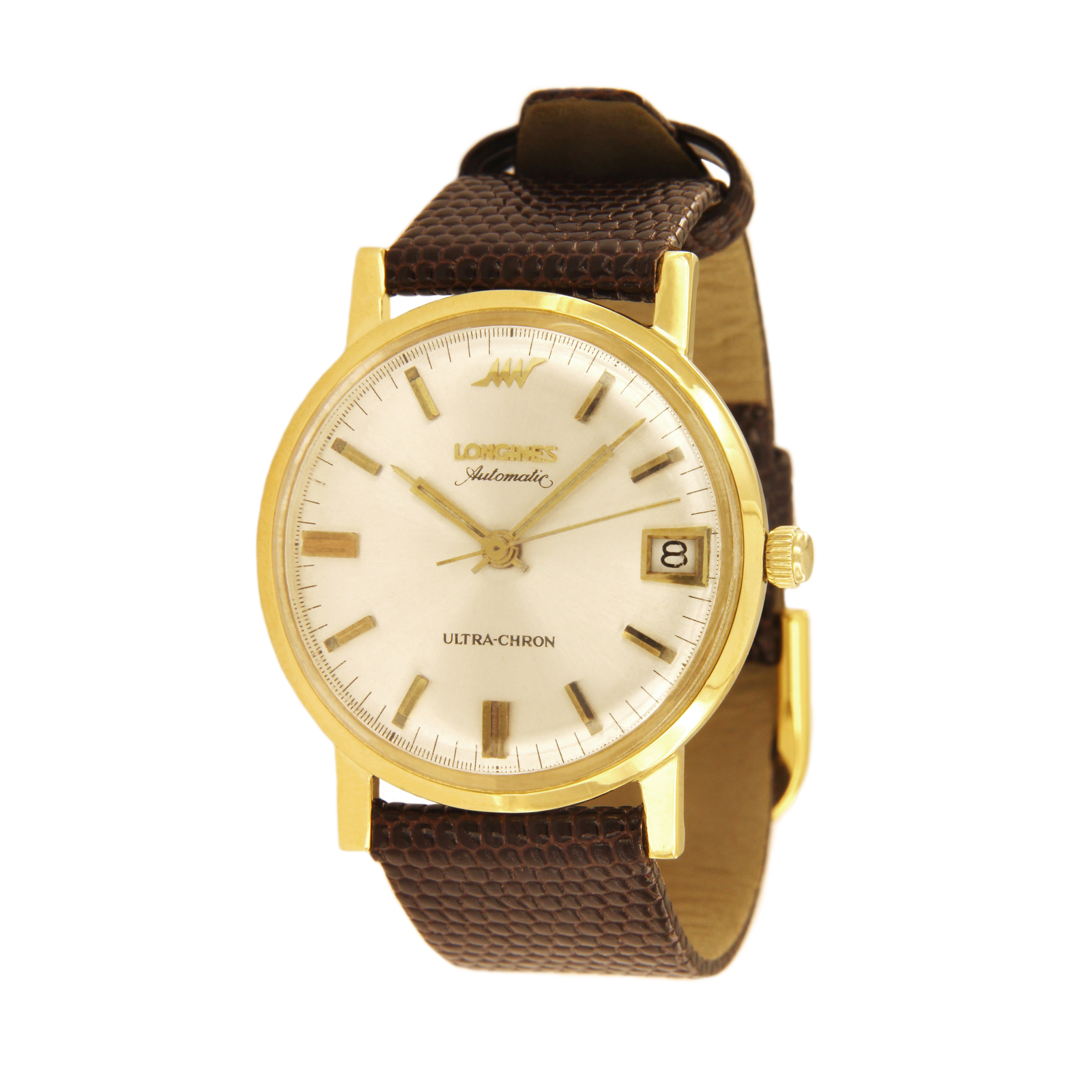 Primary image for Longines 18k Yellow Gold Automatic Ultra-Chron Watch