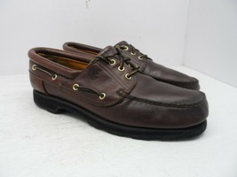 Timberland Men's Icon Three-Eye Classic Casual Shoe 6502A Brown Size 13M - $42.74