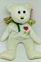 TY Beanie Baby - GIFT the Bear (White Version) - $15.79
