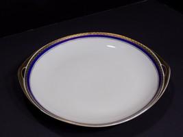 Vintage Rosenthal Germany ELSE 2557 Round Dbl Handled Cake Plate Platter - $34.65