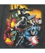 MARVEL Mens Avengers T-Shirt Color: Dark Gray Size XL 46-48 EUC - $15.53