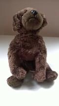 """TY Beanie Baby Brown Plush Dog """"Muddy"""" - $10.99"""