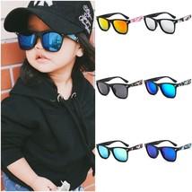 Children Sunglasses Cat Eye Mix Color UV400 Girls Fashion Anti Reflectiv... - £7.06 GBP