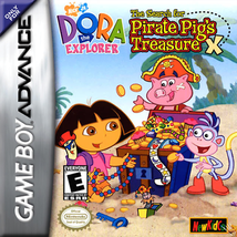 Dora the Explorer: The Search for Pirate Pig's Treasure (Nintendo Game B... - $3.71