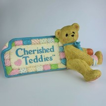 Cherished Teddies Large (Giant) Store Display Sign USED - $39.59