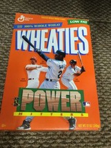Power Hitters Wheaties Box Mcquire, Griffey, Martinez New Sealed - $14.84