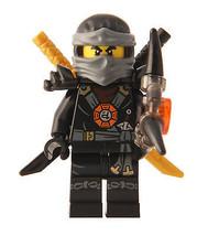 LEGO® Ninjago™ Deepstone Minifigure - Cole with Armor and Aeroblade - $8.90