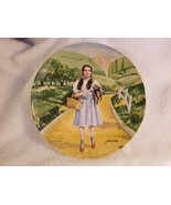 VTG 1977 Wizard Of Oz OVER THE RAINBOW Dorothy Toto Knowles Collector Pl... - $14.00