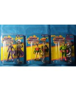 Lot of 3: Joker Lex Luthor Robin Limited Edition Mini Figures Throwback ... - $9.89