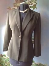 Le Suit Petite Women's Light Brown Blazer Suit Jacket SZ 6P - $29.69