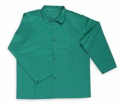 2XL Flame Retardant Fire Resistant Jacket, Green, Cotton, Condor , 6NB86 - $9.89