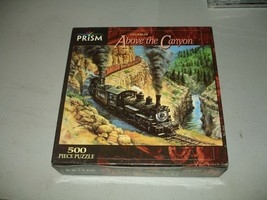 Prism 500 Piece Puzzle - Above the Canyon / Ted Xaras - Brand New, Sealed - $20.78