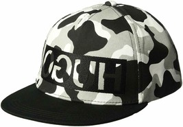 Hugo Boss Army Camouflage Adjustable Sport Baseball Flatbrim Snapback Hat Cap image 2