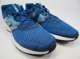 Adidas Aerobounce Size US 11.5 M (D) EU 46 Men's Running Shoes Blue Silver