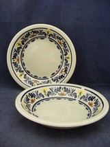 2 Wedgwood Breton Soup Bowls  Very Good Condition - $19.95