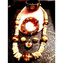 Gorgeous Brown/Natural Stone Jewelry Lot - $29.70