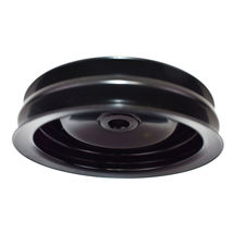 GM Saginaw Power Steering Pump Double-Groove Steel Pulley (Black) image 6