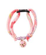 From Japan Cat Collar Charm Nekoichi Sakura Pink - $25.00