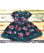 Gymboree Dress 2T Ready Jet Go Floral Corduroy Fall Dress NWT Outlet - $13.99
