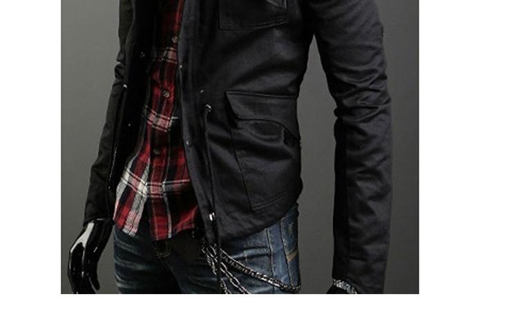 The new men's wear casual jacket size Mens jackets menswear slim male tide