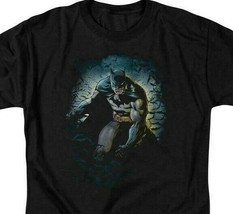 Batman T-shirt DC Comics The Dark Knight Superhero Graphic Tee BM1891 image 2