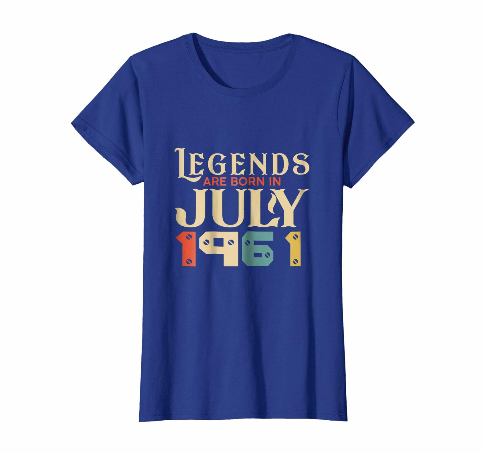 Brother Shirts - Legend Since July 1961 Shirt - Age 57th Birthday Funny Gift Wow image 4