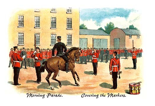 Primary image for Morning Parade: Covering the Markers by Richard Simkin - Art Print