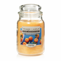 ☆☆MANDARIN ORANGE☆☆YANKEE CANDLE JAR~ FREE SHIPPING☆☆HOME INSPIRATION - $21.77