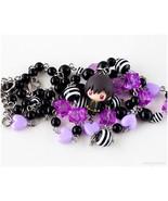 Lelouch vi Britannia Anime Figure Necklace, Black, Purple, Silver Jewelr... - $44.00