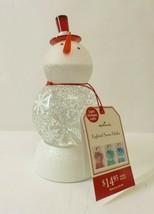 Hallmark Snowman Snowglobe 1XRC4690 - $19.79
