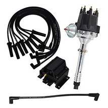 A-Team Performance Pro Series R2R Distributor, 8.0mm Spark Plug Wires, 50K Volts