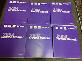 2004 Chevy Avalanche & Suburban Truck Service Shop Repair Manual Set New Feo 04 - $494.98