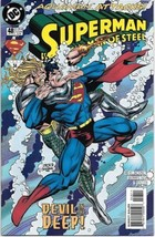 Superman: The Man of Steel Comic Book #48 DC Comics 1995 NEAR MINT NEW U... - $3.25