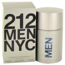 212 Eau De Toilette Spray (New Packaging) By Carolina Herrera 1.7 oz Col... - $62.07