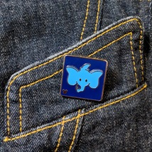 Dumbo the Flying Elephant Attraction Icon. Disney Lapel pin - $5.00