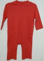 Blanks Boutique Boys Long Sleeved Romper Color Red Size 6 Months image 2